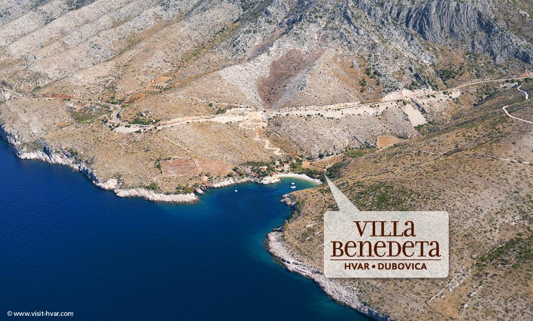 Villa Benedeta Dubovica - location