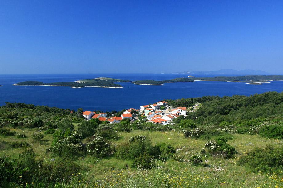 Hvar town on the island of Hvar