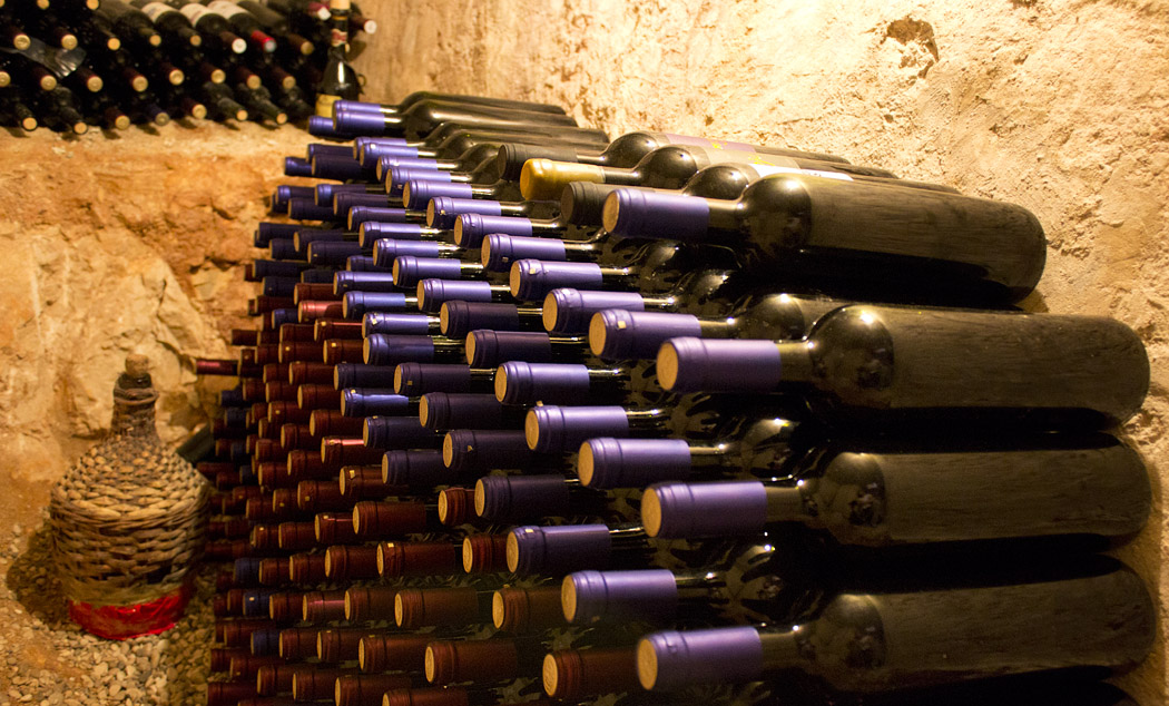 Villa Benedeta - wine cellar